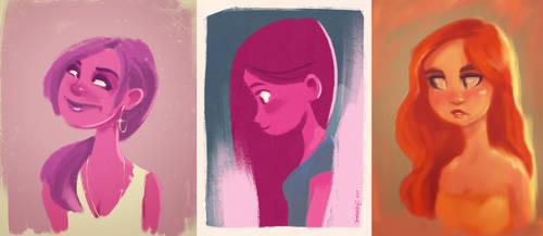 SketchGirls by the-Tooninator