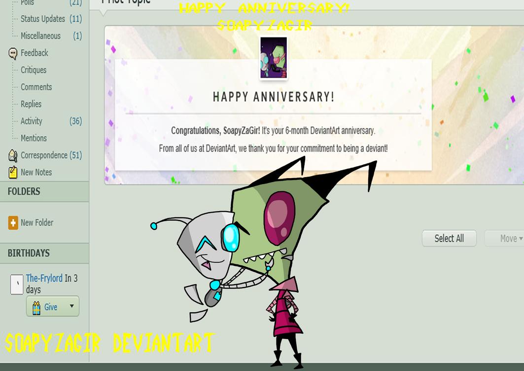 Happy Anniversary SoapyZaGir by SoapyZaGir