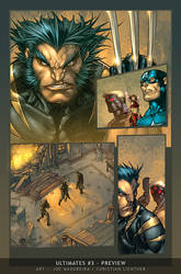 Ultimates3 Issue3 PageA by liquidology
