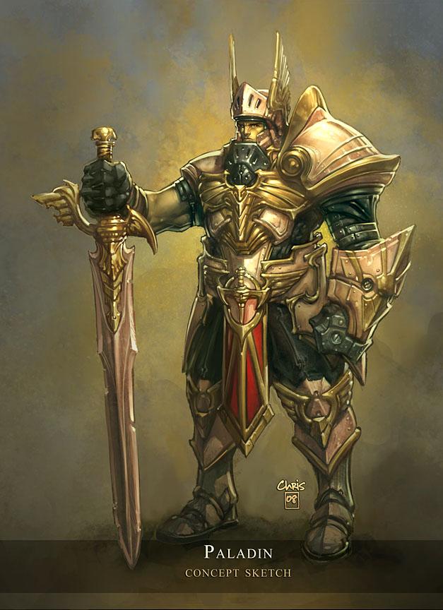 Journey-The Legendary War Paladin_Concept_by_liquidology