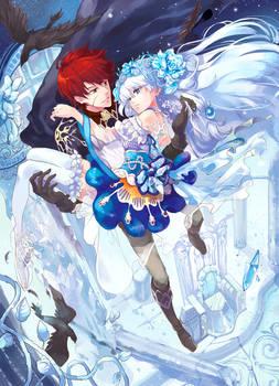 in frozen castle