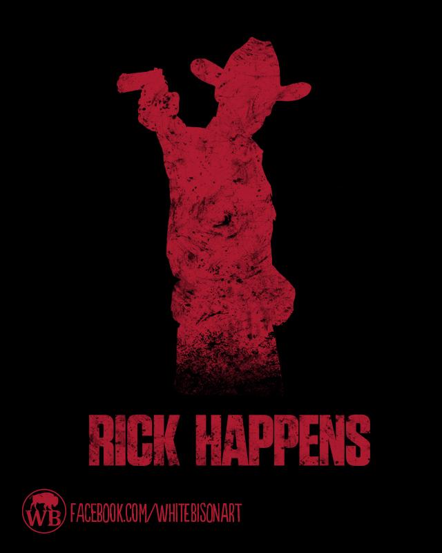Rick Happens by Whitebisonart