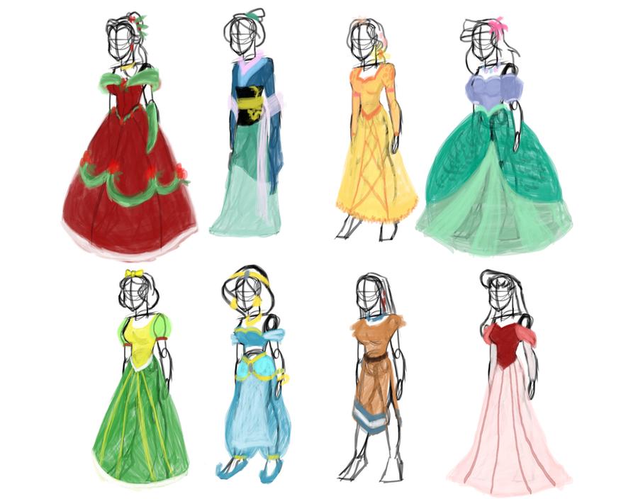 Disney princess wedding dresses snow