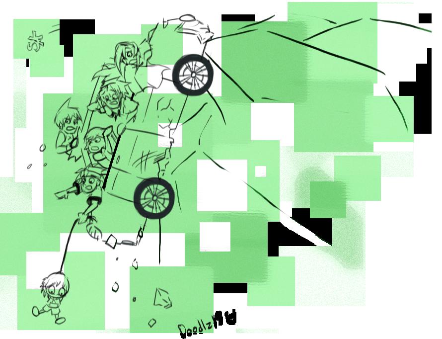Crazy Driving Part 3 by Doodlz18