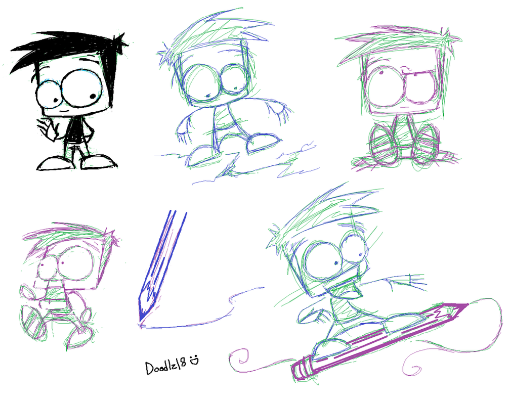 Sketches_Doodlez_MS paint by Doodlz18