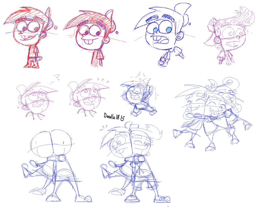 Timmy_Other_Sketches by Doodlz18
