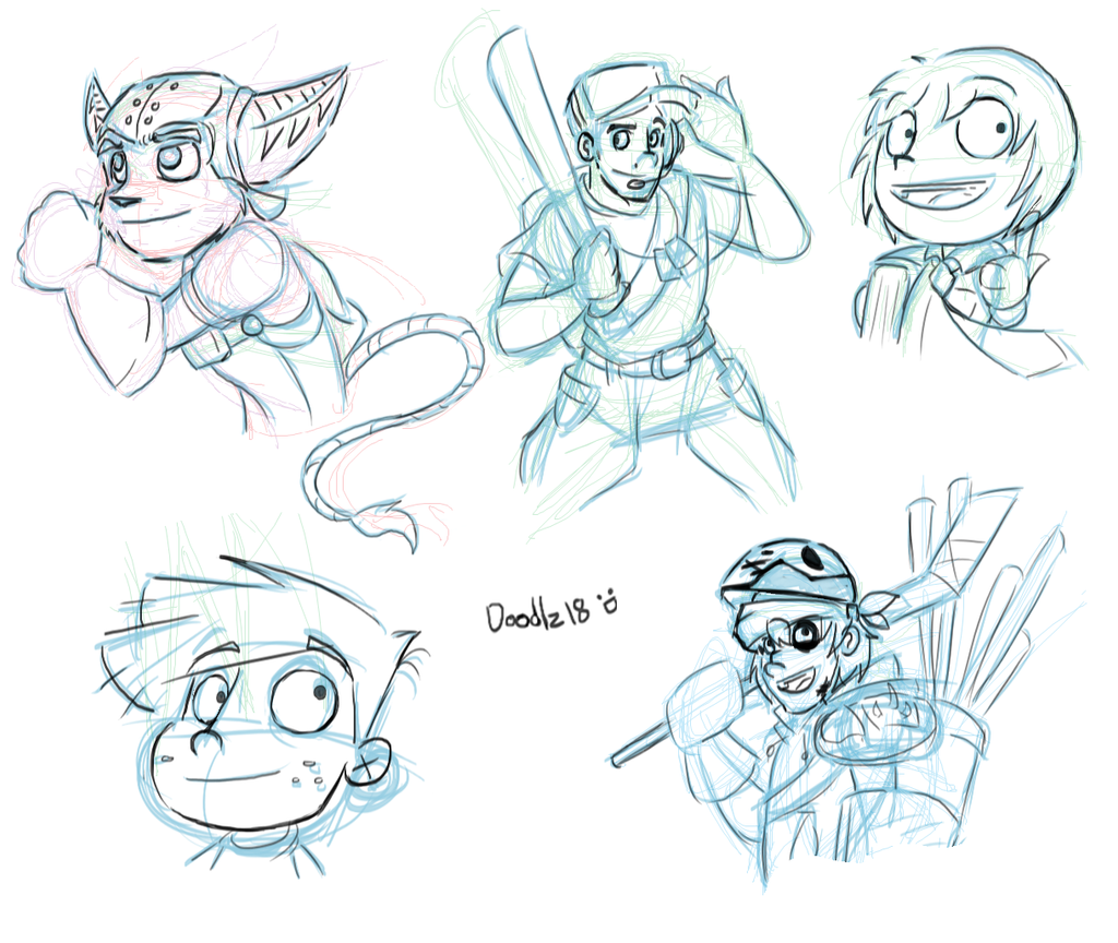 Sketches_Characters_10 by Doodlz18