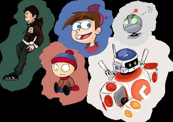 Characters_Toons_etc_11 by Doodlz18