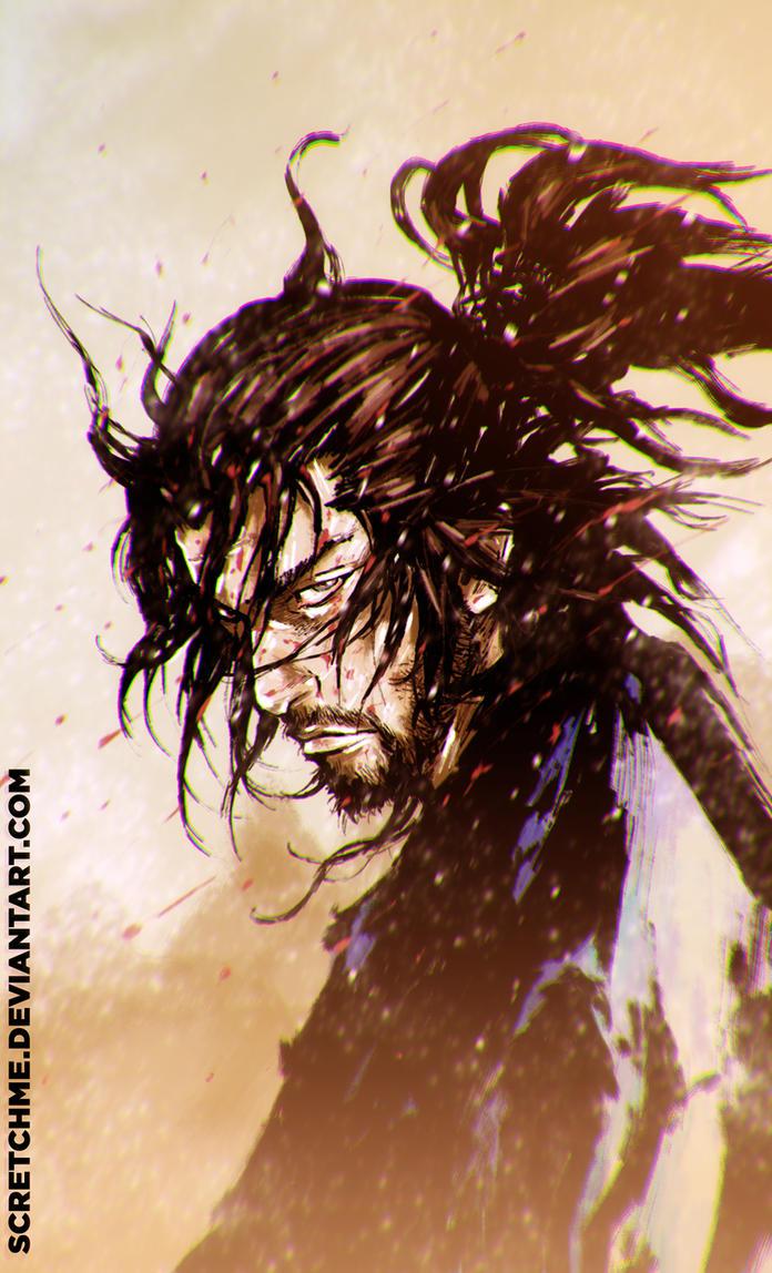 musashi miyamoto, the bleeding snow by scretchme