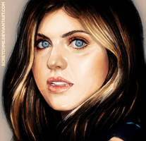 alexandra anna daddario study by scretchme