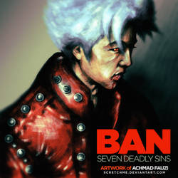 Ban, The Seven Deadly Sins by scretchme