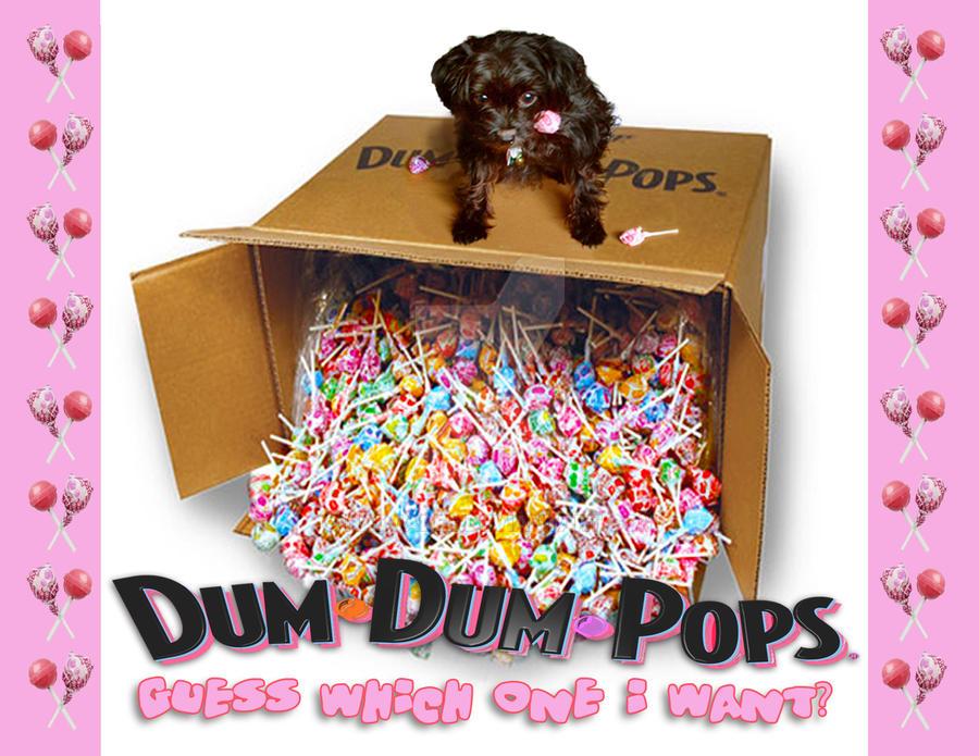 Dum Dum Pops Pup by nadjadee
