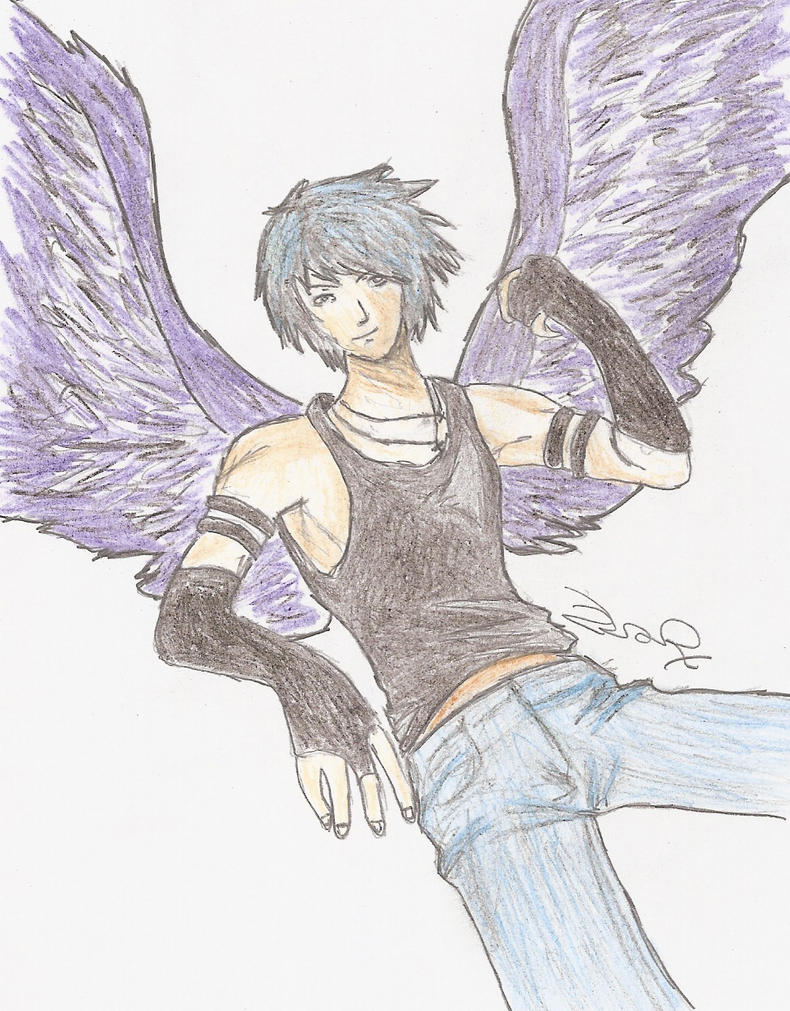 Male fallen angel by zarzii on deviantart male fallen angel by zarzii thecheapjerseys Choice Image