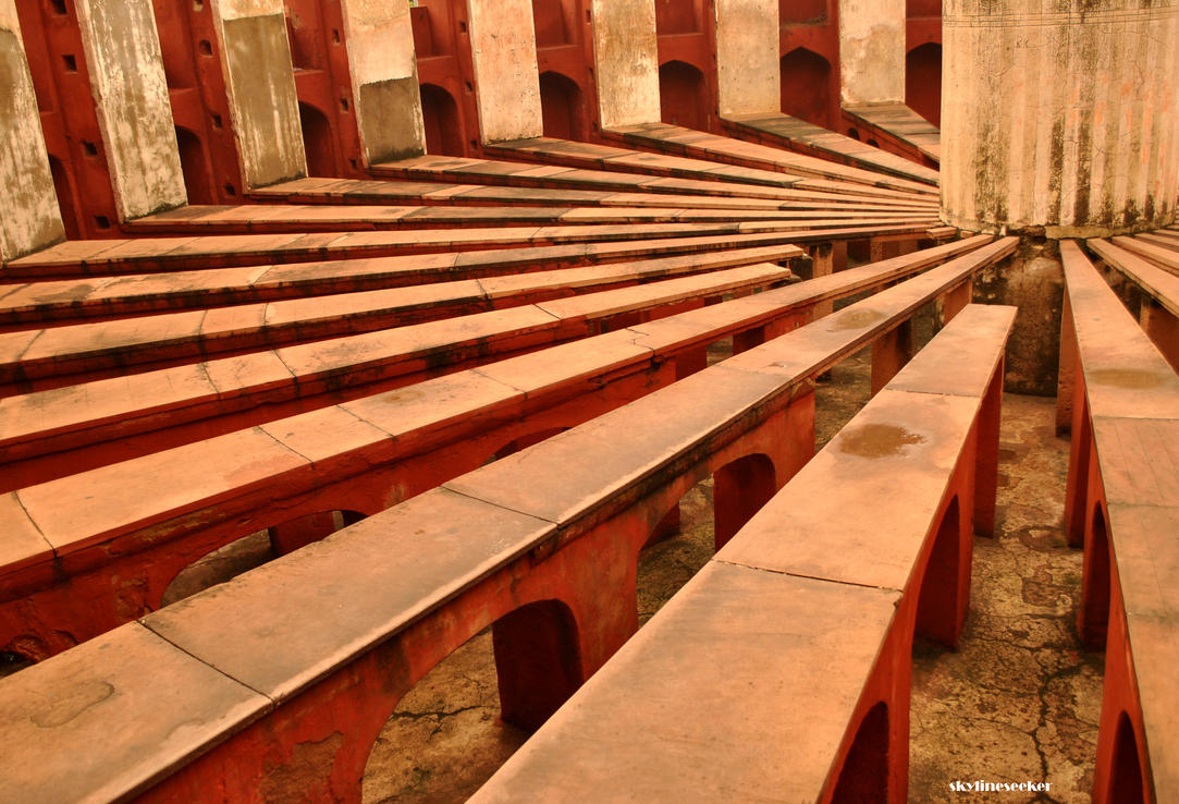 Jantar Mantar by skylineseeker