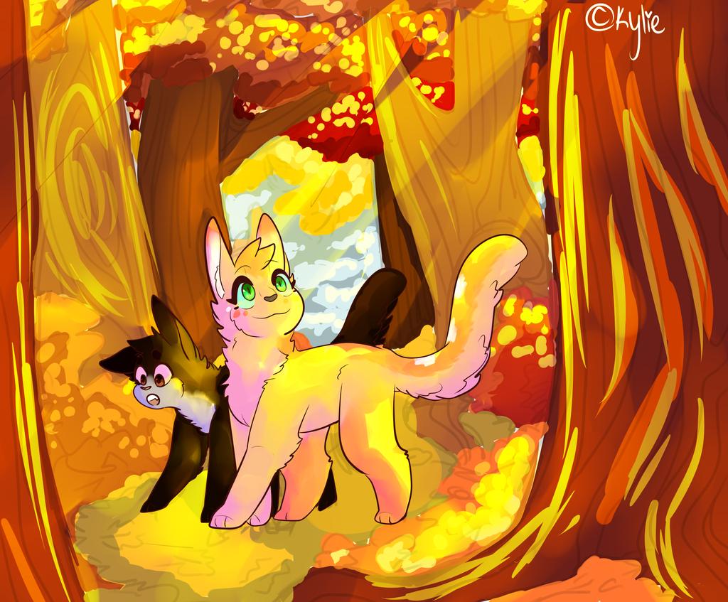 Fall patrol by kawaiibuttkylie