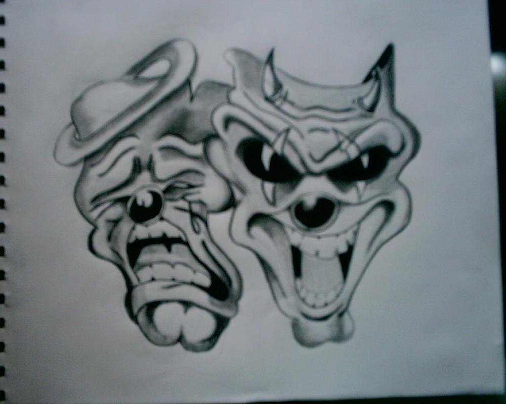 sinners laught saints cry by Lowrider Arte Joker