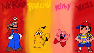 My Four Smash Brothers
