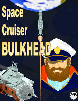 Comic Cover - Space Cruiser Bulkhead 02