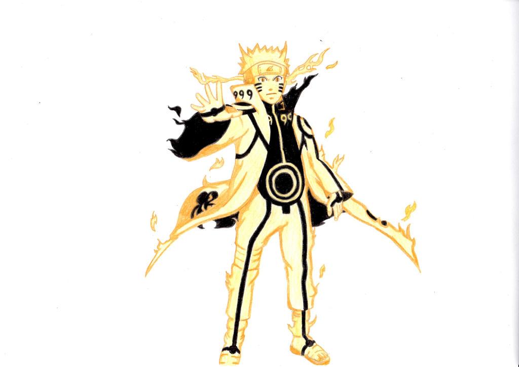 Naruto Kurama Mode Naruto Kurama Mode by ...