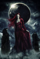 The Summoning of Lilith: The Most Elegant Predator by TheCoverArtisan