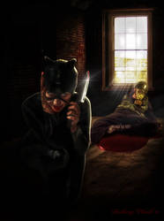 Insane Catwoman: the-horror-club contest entry
