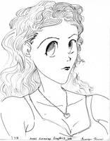 Old School Anime-Chloe by SilkenTouch