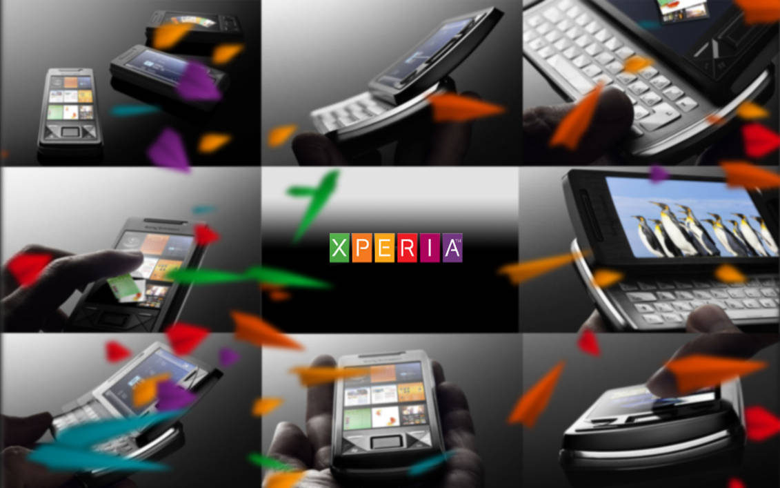 Sony Ericsson XPERIA Wallpaper by idlerz-united on DeviantArt