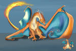 Day 28 - Pokemon ( Charizard)