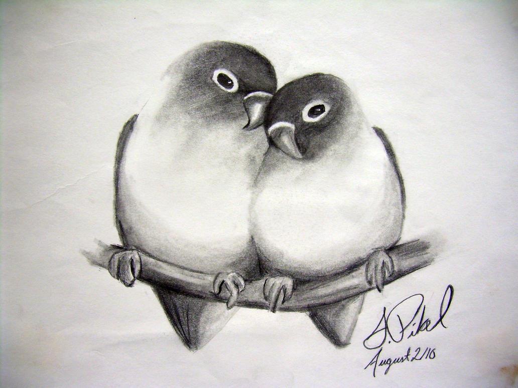 Uncategorized Love Bird Drawing love birds by pikels2 on deviantart pikels2