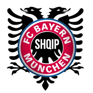 Bayern Munich Shqip Logo By Randomtaulant On Deviantart