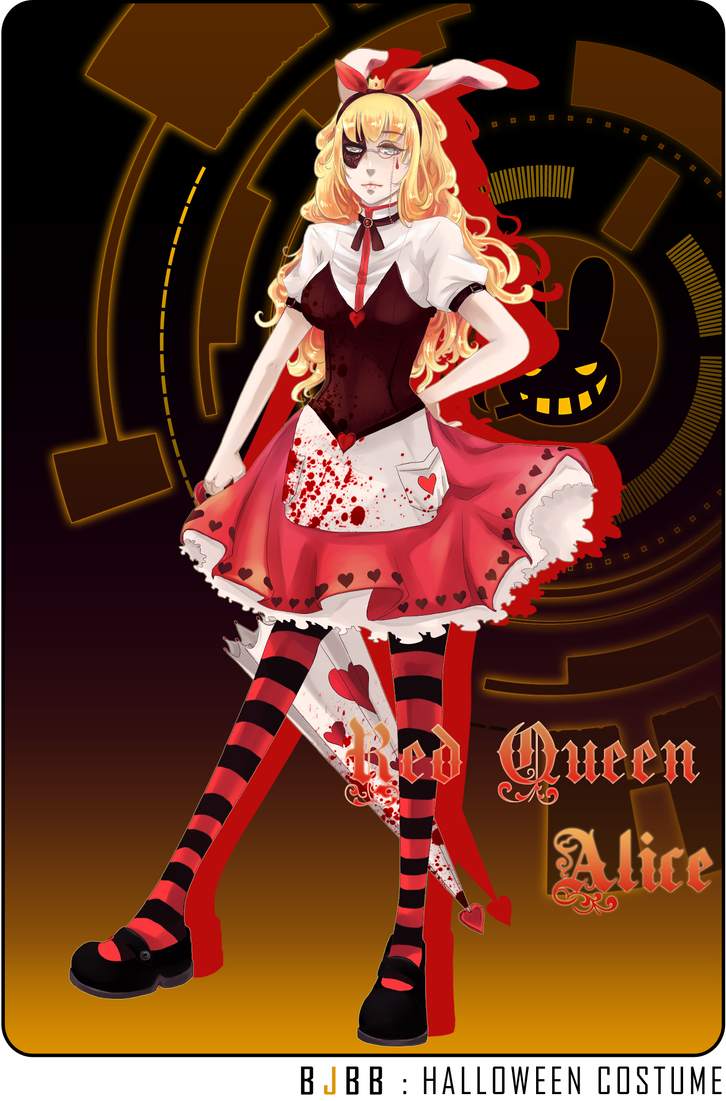 alice and the red queen anime elf characters