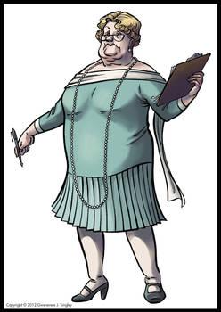 Mrs. Cornelia Bailiwick-Stout