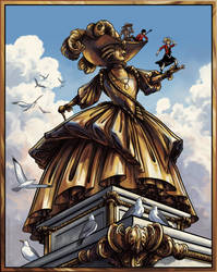 Golden Queen by QueenGwenevere