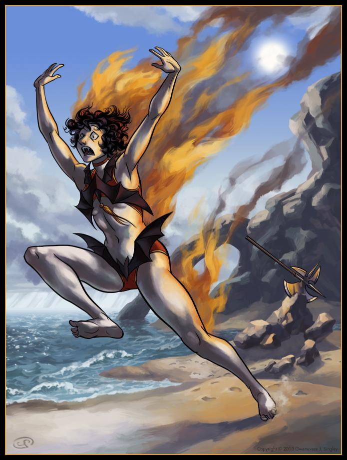 Iris - Heat Wave by QueenGwenevere