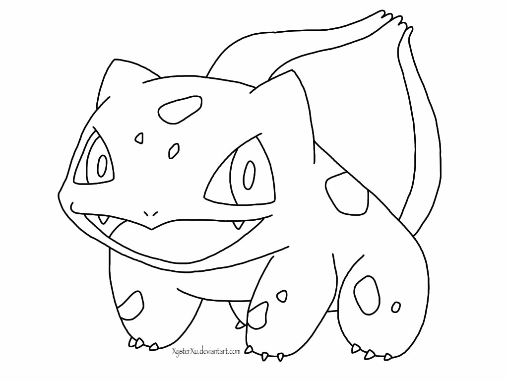 pokemon bulbasaur coloring pages images pokemon images