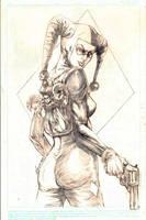 Harley Quinn by brokenluk