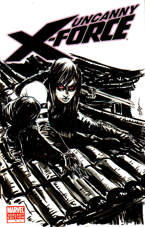 X-23 Uncanny X-Force by brokenluk