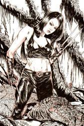 X-23 by brokenluk