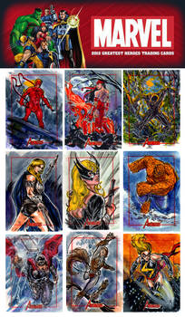 Marvel Greatest Heroes from Rittenhouse Archive
