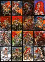 Red Sonja from Breygent