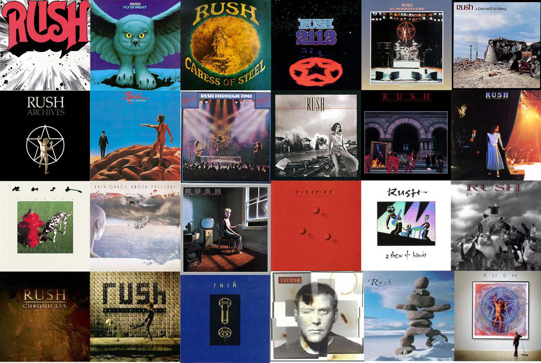 Rush Albums I by embarq