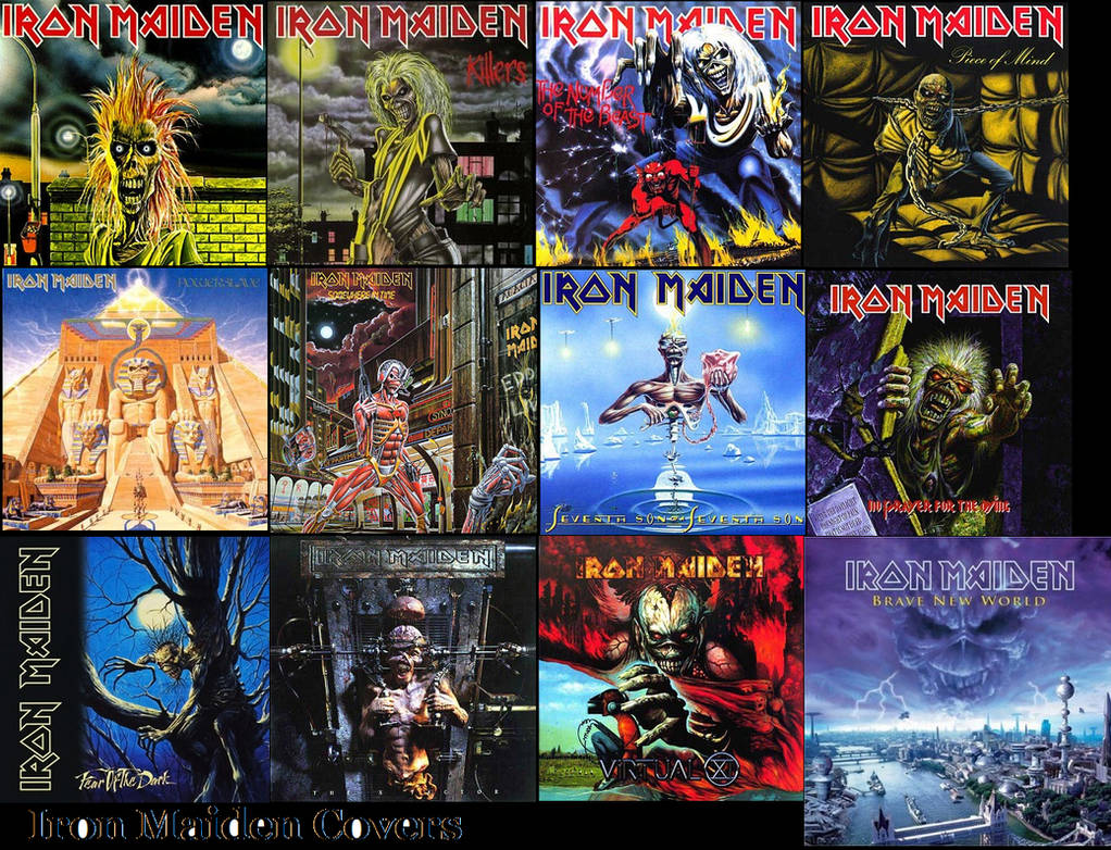 Iron Maiden Covers 1980 -2000
