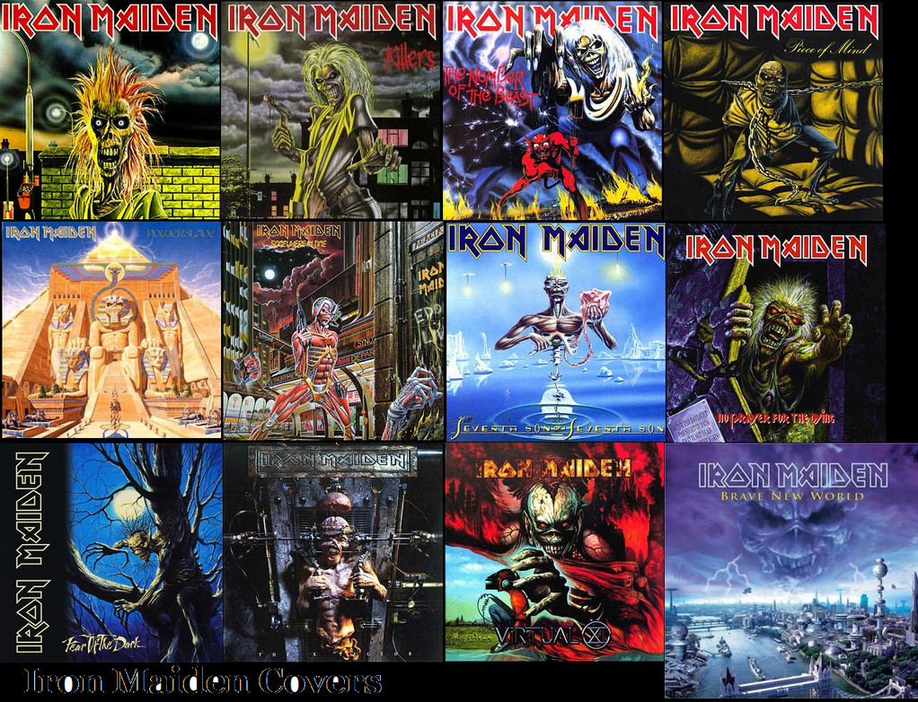 Iron Maiden Covers 1980 -2000 by Aero-zeppelin654