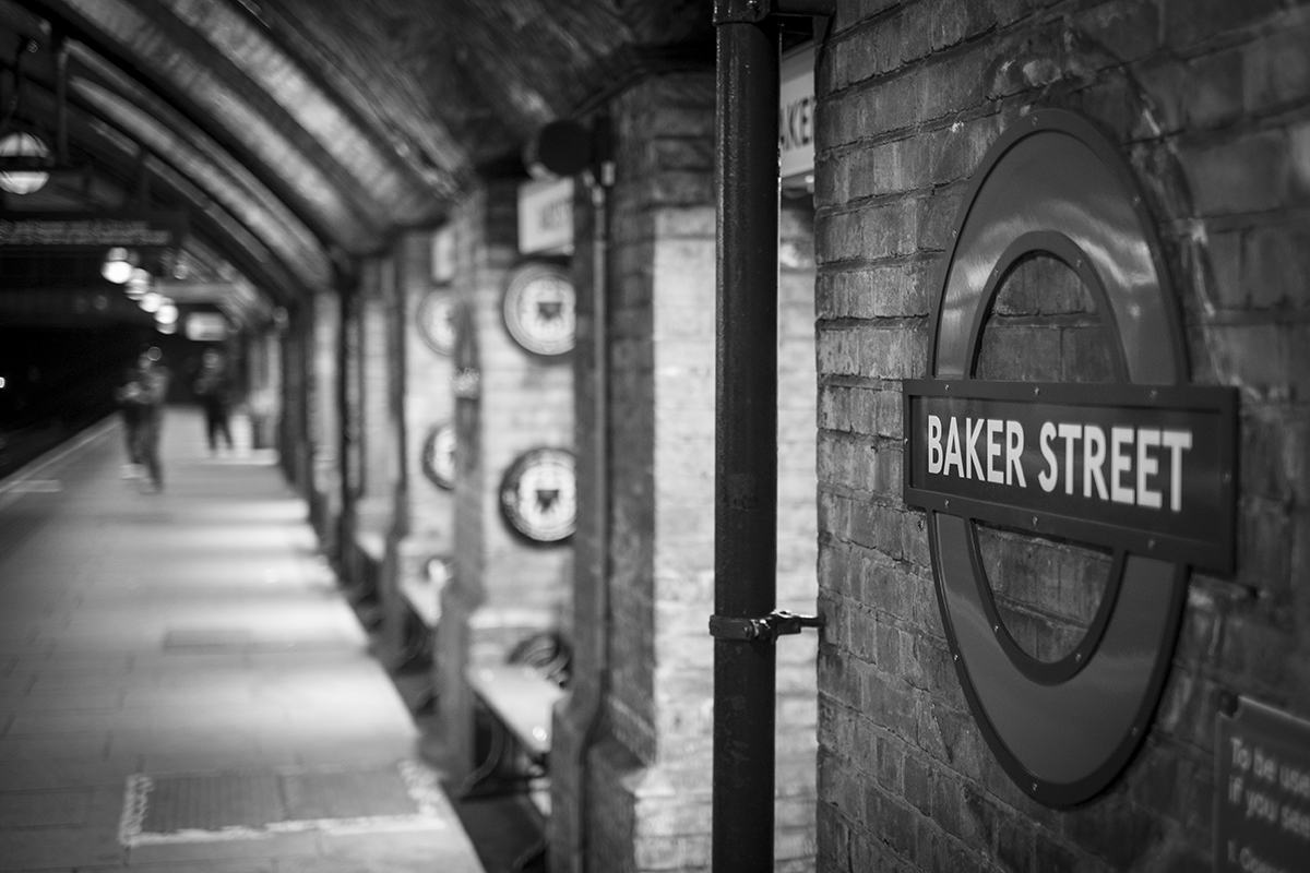 Baker Street Station by Sjodin