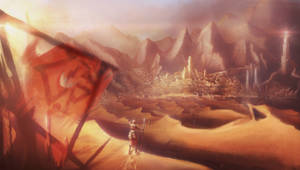 The Great City of Umbar, LOTR by DireImpulse