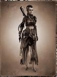 Tribal Steampunk Villain Concept: Assassin