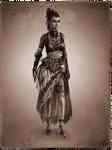 Tribal Steampunk Villain Concept: Landlady