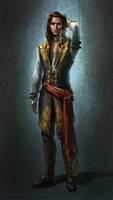Darius Asher - Warhammer 40K by DireImpulse