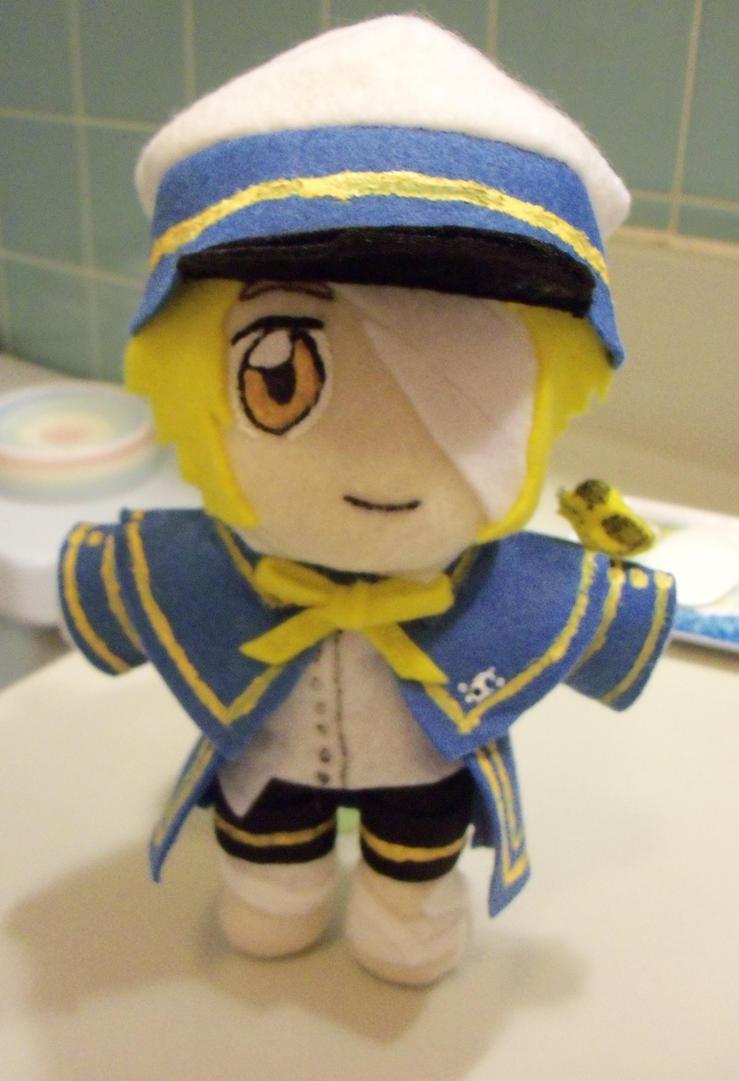 Vocaloid 3 Oliver by TashaAkaTachi