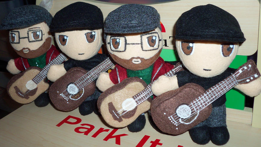 Tony and Riggz 2 Set Plushies by TashaAkaTachi